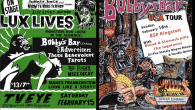 Jungle Juice, the Midnite Monster Hop, & Phantom Creep Presents Lux Lives East Coast 2020 NYC at TV Eye! Featuring: Bobby's Bar (Japan!) https://www.facebook.com/jpbobbysbar/ The Advertisers!!! Thee Benevolent Tarots!!! DJ Kogar the Swinging Ape & Mike Decay playing Lux and Ivy's Favorites all night long! Continuing the yearly Cramps-inspired silent art auction we had been doing at the Midnite Monster Hop/Otto's Shrunken Head, check out the folder of original artwork being auction off here: https://www.facebook.com/media/set/?set=a.2597975086973689&type=3 Remember, all auctions start at only $13.13 and all proceeds go to Best Friends Animal Society in Lux Interior's name! Lux Lives is a celebration of the life of Lux Interior who passed way 11 years ago this February. For the past 10 years some great folks across the pond have been holding annual Lux Lives events where fans get together and see bands, listen to music, and basically celebrate everything Cramps! This has spread to the US starting 7 years ago with the first Lux Lives (US) being held in Boston. It was a great success. Since then, there have been Lux Lives events all over the globe. Last year there were 3 Lux Lives East Coast events in NYC, Salem, and Portland Maine! Bands and DJ's and fans came together to celebrate the life of Lux Interior. Lux Lives East Coast raised $4,900.00 for Best Friends Animal Society! Since it's inception, Lux Lives East Coast has raised nearly $20,000 for Lux and Ivy's favorite charity! Like last year's event there will be Lux...