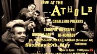 "5/29RATHOLE Saturday 29th. May 2021 Back From The Grave presents "" Live at the Rathole"" Caballero Polkers Stompin' Riffraffs Bobby's Bar Hi-Nomady DJ Daddy-O-Nov Nakano(Drink'em All) robinson Open & Start 16:00 to 20:00 Tickt 1500yen Venue : Chofu Shibasaki RATHOLE 東京都調布市菊野台1-21-13 柴崎ビレッジB1F 042-452-8629"