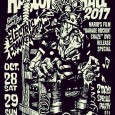 BOBBYS BARで出演します! BACK FROM THE GRAVE PRESENTS HALLOWEEN BALL 2017: MARIO'S FILM GARAGE ROCKIN' CRAZE DVD RELEASE SPECIAL OCTOBER 28th SAT. & 29th SUN. 2017 At Shinjuku LOFT Hall & Bar 28th SATURDAY LIVE : TEXACO LEATHERMAN (30th anniversary) ELECTRIC FRANKENSTEIN (from USA 30th anniversary) MAD3 THE EVIL HOODOO THE GREAT MONGOOSE CHICKEN JUMP SKIPS GASOLINE (from YOKKAICHI) THE GO-DEVILS (OSAKA) BAITONES (from KOBE 20th anniversary) MESA COSA (from AUS) THE MINNESOTA VOODOO MEN MACHINICALIS TOKYO CRAMPS LOS RIZLAZ DOWNS (from KANAZAWA) THE FLY AND HIS ONE MAN GARBAGE (from SHIZUOKA) VIVIAN BOYS FOOL SAVAGE & THE LEATHER DOLLS THAT'S A NO NO ! TOKO BLACK with BRAVO KOMATSU THE JOHNNY DISCO BEACH ROCKBOTTOM THE PSYCLOCKS STOMPIN' RIFFRAFFS THE FADEAWAYS BOBBY'S BAR MELLViNS THE PRINGLES THE HIGHMARTS KILLER CHINADRESS (from NAGOYA) CROCODELIA (from TAIWAN) WINSTONS MEGA MUNCH OYSTERS SEEEK ME DARLING a mole under the eye AKANE WITH THE MENDIPS AMEKU & THE CEDMARTS (Rockin' Enocky with Friends) MacrochordZ GO-GO DANCERS : BEEHIVES (from AUS) DJ : JIMMY MASHIKO MR.DEATH DADDY-O-NOV RYO THE DYNAMITE GUEST DJ : CYRIL ROY GO FROM TOKYO (BASH) WILD OX (EROSTIKA) BRUCE & FRANK (from AUS) FUMIE KIKUCHI (BANG THE NOISE ) B.B. CLARKE (Garage Rockin' Craze) SASAI TOSHIO (BLAST JAMS!!) OPEN/START : 15:00 ADV : 3,000yen (+1Drink) DOOR : 3,500yen (+1Drink) 2 Days Tickets : 5,000yen (Each day +1Drink) https://www.facebook.com/events/424871777888815/ ADV : 3,000yen (+1Drink) DOOR : 3,500yen (+1Drink) 2 Days Tickets : 5,000yen (Each day +1Drink) https://www.facebook.com/events/307585679676586/ 新宿LOFT 〒160-0021 東京都新宿区歌舞伎町1-12-9 タテハナビルB2 B2 Tatehana Building...