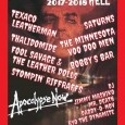 Bobby's Barにオルガンで参加します。 12/31 UFO CLUB BACK FROM THE GRAVE RETURNS -APOCALYPSE NOW- TEXACO LEATHERMAN 30th ANNIVERSARY! COUNT DOWN HELL 2017-2018 SUNDAY 31th DECEMBER 2017 VENUE: U.F.O. CLUB (Higashi-Kouenji,TOKYO) OPEN/START : 19:00 ADV: 1,500yen(+1D) DOOR: 2,000yen(+1D) [BANDs] TEXACO LEATHERMAN SATURNS THE MINNESOTA VOODOO MEN サリドマイド (THALIDOMIDE) FOOL SAVAGE & THE LEATHER DOLLS STOMPIN' RIFFRAFFS BOBBY'S BAR [GUEST DJ] RYO THE DYNAMITE (Twistin' Rumble) and more! [BACK FROM THE GRAVE DJs] JIMMY MASHIKO DADDY-O-NOV MR.DEATH [U.F.O.CLUB] B1 Harmony-hills 1-11-6 Kouenji-Minami, Suginami-Ku, Tokyo JAPAN TEL/FAX:03-5306-0240 http://www.ufoclub.jp/