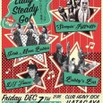 2018 12/7 Lady steady go at heavy sick hatagaya Bobbys barオルガンで参加します。                   〈LIVE〉 ・Pink Moon Babies ・Stompin' Riffraffs ・Bobby's Bar 〈DJ〉 ・Tamae(ponytailz) 〈OPEN/START〉19:00 〈ADV〉2,000yen+1D 〈DOOR〉2,500yen+1D