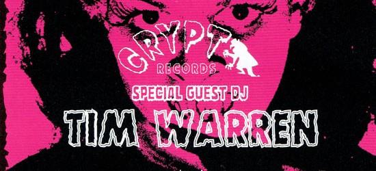 """LAST OF THE GARAGE PUNK!!!!~BACK FROM THE GRAVE 30th & TIME BOMB RECORDS 30th & IT'S FINKING TIME 10th ANNIVERSARY SPECIAL!! 2019/11/03 (SUN)at.東心斎橋CLUB STOMPOPEN / START 17:00AD ¥2800(仮) DOOR ¥3300 共にdrink別(仮) SPECIAL GUEST DJ・TIM WARREN (CRYPT RECORDS)BAND:・THE GREAT MONGOOSE・MAGNATONES・STOMPIN'RIFFRAFFS・BAITONES・JIMMY & THE QUEENIESDJ:・DADDY-O-NOV(BACK FROM THE GRAVE)・JIMMY MASHIKO(BACK FROM THE GRAVE)・DJ K.D.M. (TIME BOMB RECORDS)・DJ O.K.D.( IT'S FINKING TIME) 60′sのガレージパンク古典コンピ""""PEBBLES""""の世界観をより掘り下げディープなガレージパンクワールドを提示した""""BACK FROM THE GRAVE""""、さらにそれを深堀した""""GARAGE PUNK UNKNOWNS""""や""""TEENAGE SHUTDOWN """"、それらと同様に洗練されていない美しさを掲げガレージのルーツであるB級なR&Rを探った""""SIN ALLEY""""、ストリップミュージックを装いその時代の尖ったインストやノベルティを発掘し30年後に""""TITTYSHAKER""""として評価された""""LAS VEGAS GRIND""""、その感覚にエギゾチックやラテンを加えた""""JUNGLE EXOTICA """"、マイナーだからこそロウな録音がより黒人らしさ際立たせた""""The Get It""""などの一連のファンキーソウル系コンピなどなど数多くの名作のコンピレーションを世に送り出しガレージパンクファンのみならず多くのヴィンテージ音楽ファンに発掘する楽しさとノンヒット音楽の面白さを教えてくれたクリプトレーベルの総帥""""ティム・ウォーレン""""が大阪にやってくる。""""LAST OF THE GARAGE PUNK""""!!!!""""と銘打って東京が世界に誇るイベント""""BACK FROM THE GRAVE""""の30周年、大阪が世界に誇るR&Rレコードショップ""""TIME BOMB RECORDS""""の30周年、大阪のガレージパンクイベント""""IT'S FINKING TIME""""の10周年を記念としたスペシャルコラボイベントを開催します。東京からはガレージ界のビッグボスで皆のお父さん""""DADDY-O-NOV""""氏、優しく紳士なガレージ博士""""JIMMY MASHIKO""""氏、""""BACK FROM""""と歴史を一緒に刻んできたロッキンガレージの王様""""THE GREAT MONGOOSE""""、今や世界をワイルドに駆け回り世界を踊らす""""STOMPIN'RIFFRAFFS""""、""""SUPERSNAZZ""""などの活躍で知られる""""MIYAGI""""氏や天才鍵盤奏者""""TUCKER""""氏らが在籍する話題のR&Rグループ""""MAGNATONES""""らが豪華に出演。関西からは神戸の怪人""""BAITONES""""、関西ガレージオールスターな""""JIMMY & THE QUEENIES""""とTIME BOMB社長の""""K.D.M.""""氏、FINKINGのO.K.D.でさらにイベント盛り立てていきます。今度2度と同じパーティーは無いであろう生ける伝説である""""ティム・ウォーレン""""を迎えてのスペシャルガレージ祭、""""LAST OF THE GARAGE PUNK""""!! 是非この機会をお見逃し無く!"""